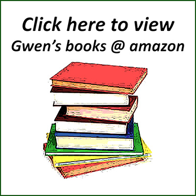 click on picture showing stack of books to link to Gwen Hullah's titles on amazon