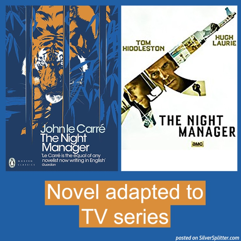 Picture of The Night Manager novel and TV series poster